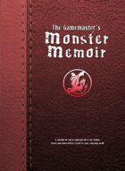 The Gamemaster's Monster Memoir