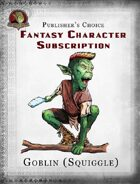 Publisher's Choice - Fantasy Characters: Goblin (Squiggle)