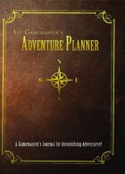 The Gamemaster's Adventure Planner