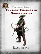 Publisher's Choice - Fantasy Characters: Ranger #1