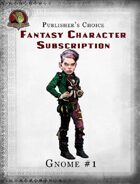 Publisher's Choice - Fantasy Characters: Gnome #1