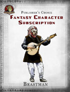 Publisher's Choice - Fantasy Characters:  Beastman Bard