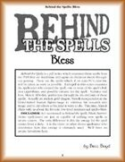 Behind the Spells: Bless