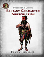 Publisher's Choice - Fantasy Characters: Elven Shaman