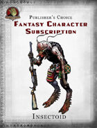 Publisher's Choice - Fantasy Characters: Insectoid
