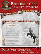 Publisher's Choice - Clockwork (Page Backgrounds)