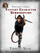 Publisher's Choice - Fantasy Characters: Tiefling Male