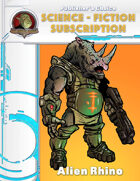 Publisher's Choice -Science Fiction: Alien Rhino (race)