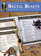 Creature Card Catalogue: Brutal Beasts