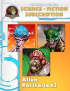Publisher's Choice -Science Fiction: Alien Portraits #2