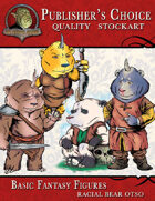 Publisher's Choice - Basic Fantasy Figures (Otso-Bear)