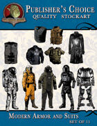 Publisher's Choice - Modern Armor and Suits (Set of 11)