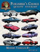 Publisher's Choice - Modern Vehicles #1 (Set of 10)