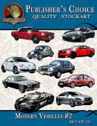 Publisher's Choice - Modern Vehicles #2 (Set of 10)