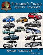 Publisher's Choice - Modern Vehicles #3 (Set of 12)