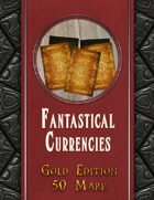 Fantastical Currencies Card Set: 50 Gold Mark
