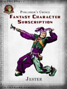 Publisher's Choice - Fantasy Characters: Jester