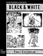 Publisher's Choice - Black & White: Forest Exploration