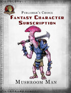 Publisher's Choice - Fantasy Characters: Mushroom Man