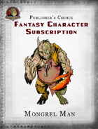Publisher's Choice - Fantasy Characters: Mongrel Man