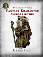 Publisher's Choice - Fantasy Characters: Green Hag