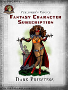 Publisher's Choice - Fantasy Characters: Dark Priestess