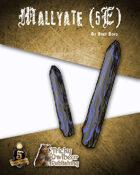 Mallyate 5th Edition Fantasy