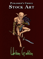 Publisher's Choice - Quality Stock Art: Urban Goblin