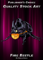 Publisher's Choice - Quality Stock Art: Fire Beetle