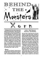 Behind the Monsters: Xorn