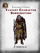 Publisher's Choice - Fantasy Characters: Firbolg
