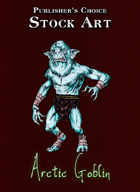 Publisher's Choice - Quality Stock Art: Arctic Goblin