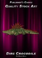Publisher's Choice - Quality Stock Art: Dire Crocodile