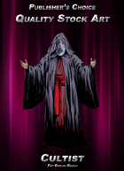 Publisher's Choice - Quality Stock Art: Cultist