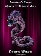 Publisher's Choice - Quality Stock Art: Death Worm