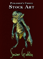 Publisher's Choice - Quality Stock Art: Sewer Goblin