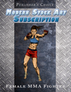 Publisher's Choice - Modern: Female MMA Fighter
