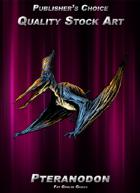 Publisher's Choice - Quality Stock Art: Pteranodon