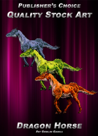 Publisher's Choice - Quality Stock Art: Dragon Horse
