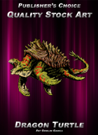 Publisher's Choice - Quality Stock Art: Dragon Turtle