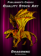 Publisher's Choice - Quality Stock Art: Dragonne