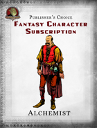 Publisher's Choice - Fantasy Characters: Alchemist