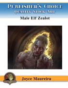 Publisher's Choice - Joyce Maureira - Elven Male Zealot Cover Art