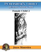 Publisher's Choice - Joyce Maureira - Female Child Two BW