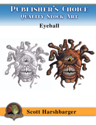 Publisher's Choice - Scott Harshbarger -  Eyeball Monster