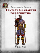 Publisher's Choice - Fantasy Characters:  Viking