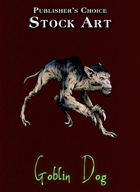 Publisher's Choice - Quality Stock Art: Goblin Dog