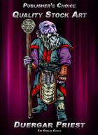 Publisher's Choice - Quality Stock Art: Duergar Priest