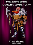 Publisher's Choice - Quality Stock Art: Fire Giant