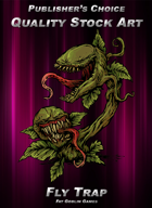Publisher's Choice - Quality Stock Art: Flytrap